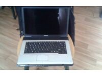 spairs or repairs toshiba laptop with charger