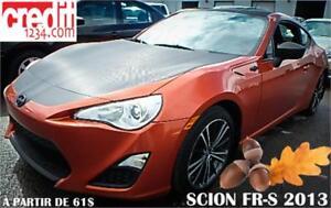 2013 Scion FR-S automatique, À PARTIR DE 61$/SEM. 100% APPROUVÉ