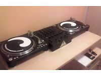 Citronic PD45 turntables + hard trance/hardstyle vinyl