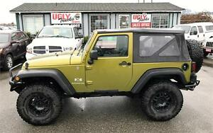"2007 Jeep Wrangler X 2"" Lift"