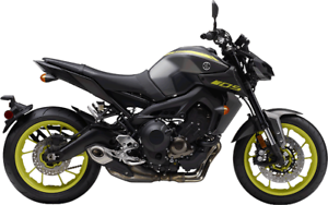 2018 YAMAHA MT-09! BRAND NEW $9700 ALL FEES IN