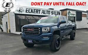 """2017 GMC SIERRA 1500 ELEVATION 4X4 WITH 6"""" ROUGH COUNTRY LIFT"""
