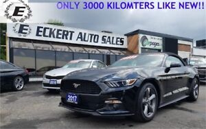2017 FORD MUSTANG V6 LIKE NEW ONLY 3,100 KILOMETERS!!