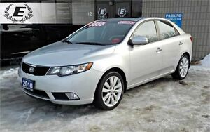 2010 Kia Forte SX WITH LEATHER HEATED SEATS
