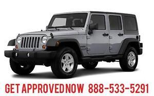 2013 Jeep Wrangler Unlimited Sport 4x4 ~ Finance $235 B/W