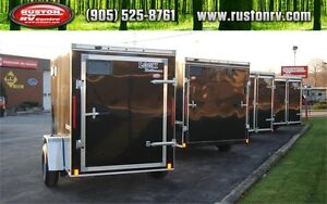 New Look Enclosed Cargo Trailers