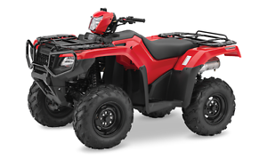 2017 HONDA RUBICON 500 IRS