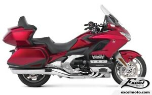 2018 HONDA GOLDWING TOUR ABS GL1800, ROUGE/ BLANC