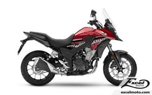 2018 HONDA CB500 XAJ ABS RED/BLACK