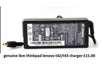 ibm thinkpad t43 t42 genuine charger £10