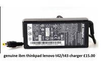ibm thinkpad t43 t42 genuine charger £10