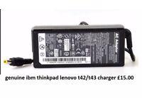 original IBM lenovo laptop charger t42/t43 £10
