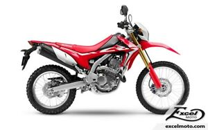 2017 HONDA CRF250L ROUGE