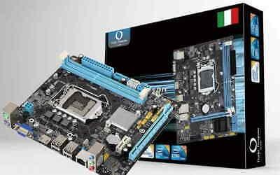SCHEDA MADRE H81 1150 DDR3 HDMI DESKTOP MOTHERBOARD COMPUTER I3 I5 I7 CPU 4° GEN