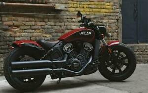 2018 Indian Motorcycle Scout Bobber one unit left at this price