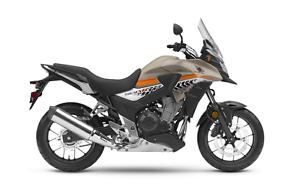 CB500X (sport touring) 2016