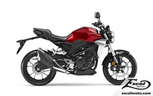 2018 HONDA CB300 FAJ ABS RED