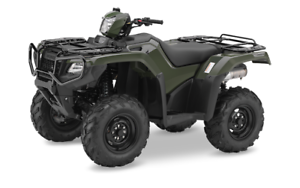 2016 TRX500 w/ Independent rear suspension and FREE WINCH