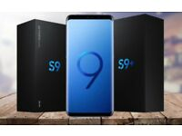 NEW Sealed Samsung Galaxy S9 & Plus 128gb 64gb Midnight Black, Coral Blue, Lilac purple - Unlocked