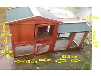 FOR SALE FERRET HOUSE AND RUN (NEARLY NEW)