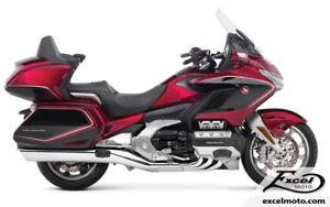 2018 GOLDWING TOUR ABS,DCT ET COUSSIN GONFLABLE GL1800 , ROUGE