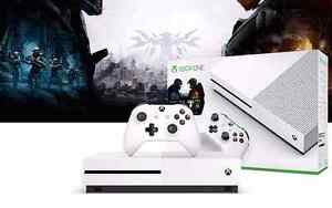 BRAND NEW, SEALED Xbox One S Halo Collection Bundle (500GB)