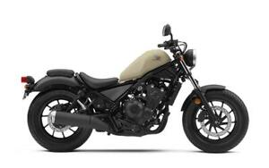 2019 Rebel 500 ABS Available in GREY or BROWN