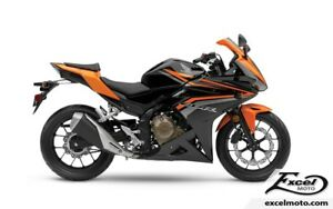 2017 HONDA CBR500RAH ABS ORANGE