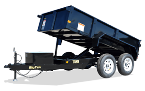 Big Tex Dump and Utility Trailers!  In stock!