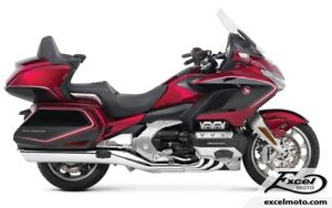 2018 HONDA GOLDWING TOUR ABS, DCT ET COUSSIN GONFLABLE, ROUGE