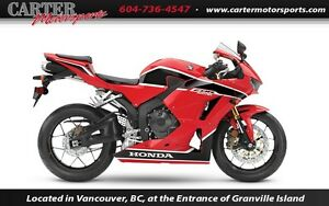 2017 Honda CBR600RAH - Save $1000!