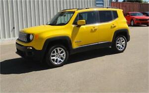 2016 Jeep Renegade North Edition 4x4 ~ Nav / Backup Cam $224 B/W