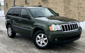 2008 Jeep Grand Cherokee Laredo diesel/4X4/CUIR/TOIT/GROUPE ÉLEC
