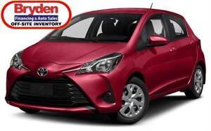 2018 Toyota Yaris LE / 1.5L I4 / Auto / FWD **Only 46K**