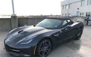 NEW 2017 Chevrolet Corvette Convertible grey NEW stingray