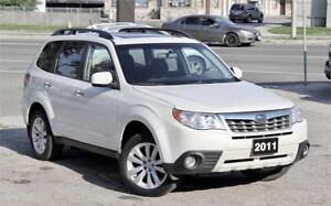 2011 Subaru Forester 2.5X Touring - Accident Free - Certified!