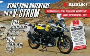 2018 Suzuki V-Strom 1000 ABS  NO FREIGHT, NO PDI
