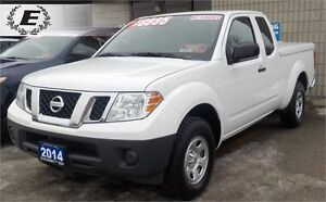 2014 Nissan Frontier S | WITH HARD LEER TONNEAU COVER