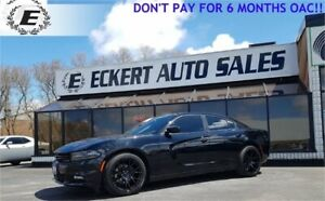 2016 DODGE CHARGER SXT/CUSTOM WHEELS/NEW TIRES