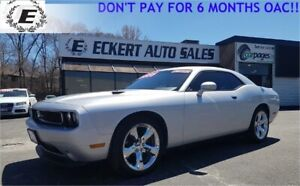 2012 DODGE CHALLENGER SXT PLUS/LEATHER/SUNROOF