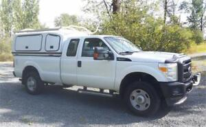 2011 F350 4X4 with SPACE KAP WORK CANOPY BOX $18,900