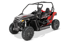 Clearance Pricing 2017 Arctic Cat Wild Cat Trail ONLY $11999**