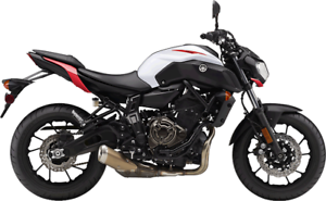 2018 Yamaha MT-07- Factory Order- Free Delivery in the GTA**
