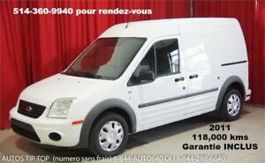 2011 FORD TRANSIT CONNECT 118,000KMS GARANTIE 2 ANS INCLUS