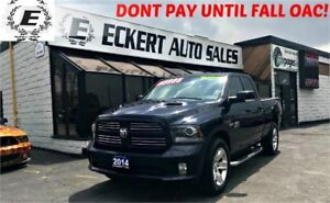 2014 Ram 1500 Sport QUAD CAB 4X4 WITH NAV / BLUETOOTH