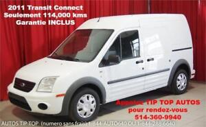 2011 FORD TRANSIT CONNECT **114,000 KMS** GARANTIE INCLUS