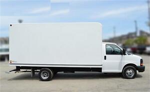 2011 GMC SAVANA CUBE 3500 cutaway 16 feet box