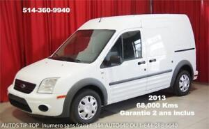 2013 FORD TRANSIT CONNECT **68,000 KMS** GARANTIE INCLUS