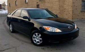 2002 Toyota Camry LE AUTO/4 CYL/GROUPE ELEC/BAS KM/COMME NEUF !!