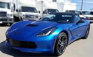 NEW 2016 Chevrolet Corvette Z51 3LT Convertible AUTO Blue